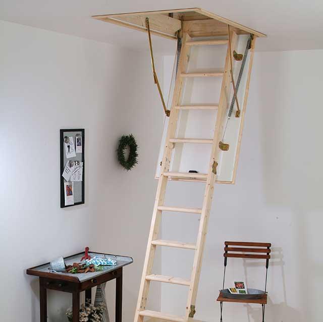 Лестница чердачная HOBBY 26 120x60