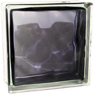 Волна Черный глянцевый окрашенный внутри 190х19х8