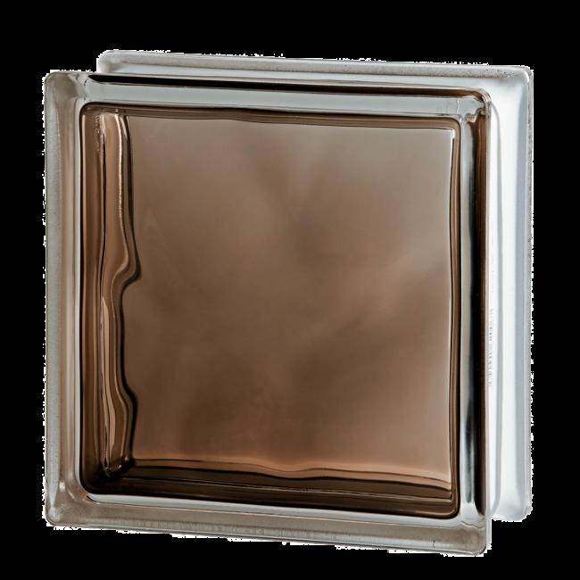 Волна бронза окрашенный внутри 190х190х80. Чехия.