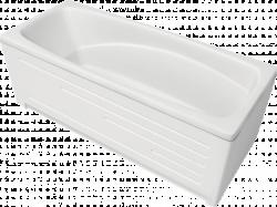 Ванна BellRado. Акриловая ванна. Лайма-1600. 1600х700х570.
