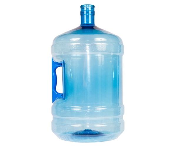 Бутыль 19л для воды с ручкой. (многооборотная)