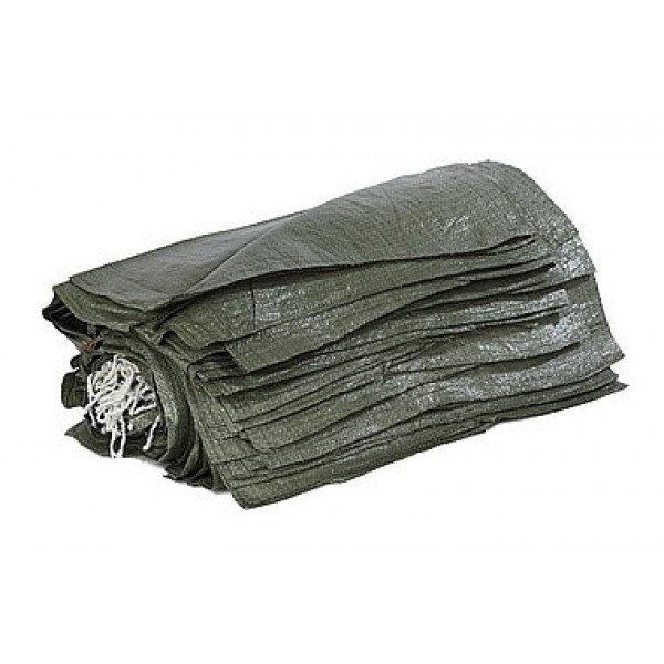 Мешки 50шт для строительного мусора 55х95 зеленые