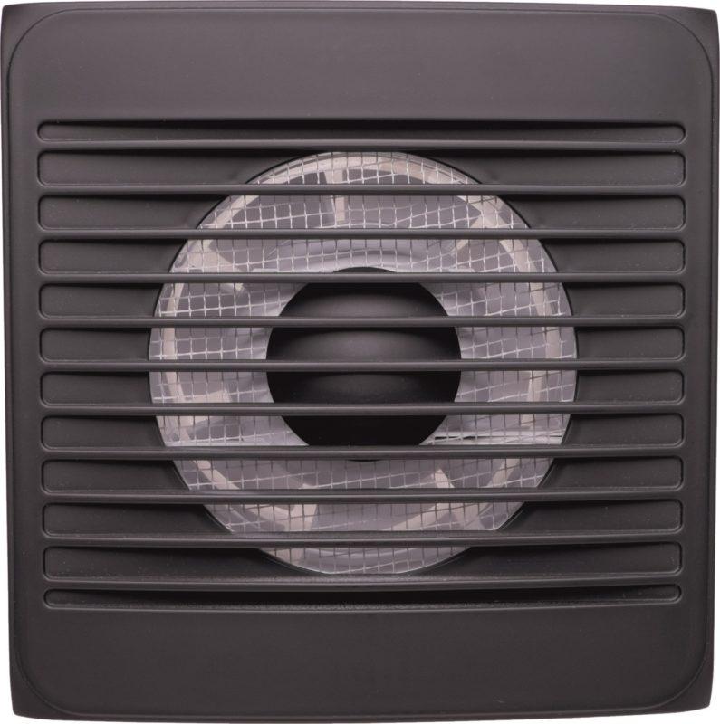 Вентилятор бытовой. Event 100С. Цвет Карбон (Черный).