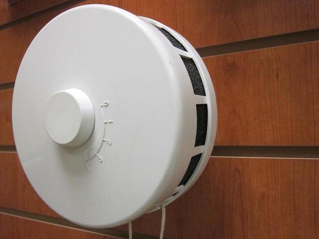 Оголовок круглый. КИВ 125. KIV 125. Для Клапана Инфильтрации Воздуха.