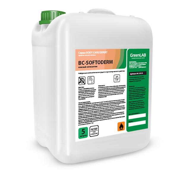 Кожный антисептик. BC-SOFTODERM. Нейтральное дезинфицирующее средство. 5л.