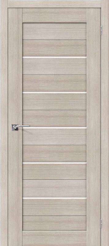 Дверь ЭКО Порта-22 Cappuccino Veralinga Magic Fog. Межкомнатная. Эко Шпон. 600, 700, 800, 900мм.